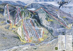 Loon Mountain Ski Trail Map