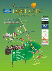 Lost City Cycle Classic Route Map