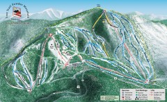 Lost Trail Powder Mountain Ski Trail Map