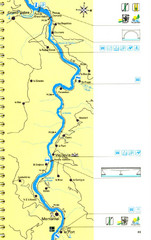 Lot River Canoe Route Map