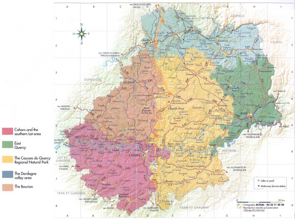 Map Of Lot France.Lot Region Map Lot France Mappery