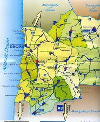 Lourinha Tourist Map