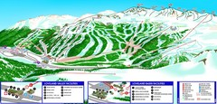 Loveland South View Ski Trail Map