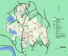Canobie Lake Park Map - Canobie Lake Park • mappery on