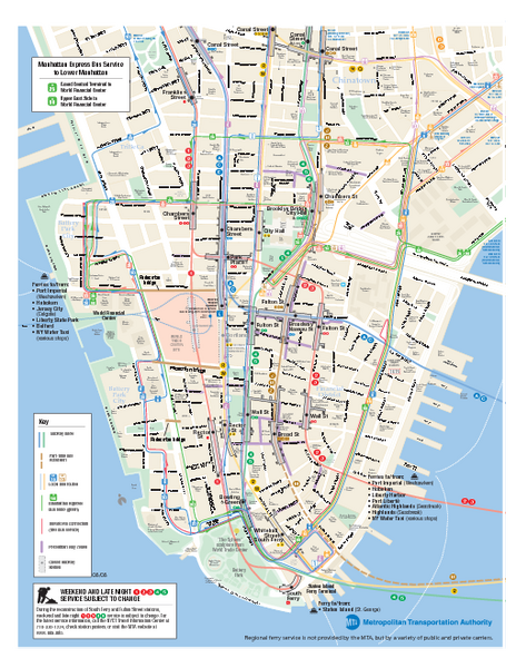 Public transportation in new york state map