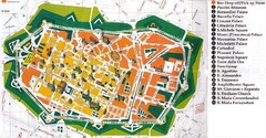 Lucca Italy Tourist Map