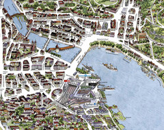 Lucerne Tourist Map