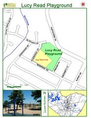 Lucy Read Playground Map