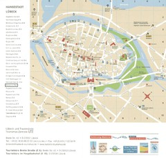 Luebeck Tourist Map