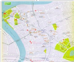 Lujiazui Tourist Map