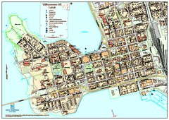 Lulea City Map