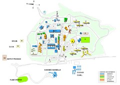 Luminy Campus Map