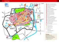 Luneburg Tourist Map