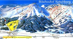 Lungau Ski Trail Map
