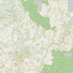 Luxembourg Bike Map