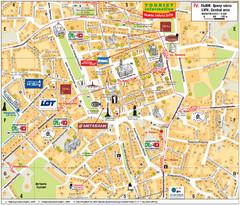 Lviv Tourist Map