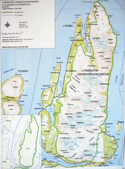 Lyngen Peninsula Map