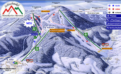 Mönichkirchen Ski Trail Map
