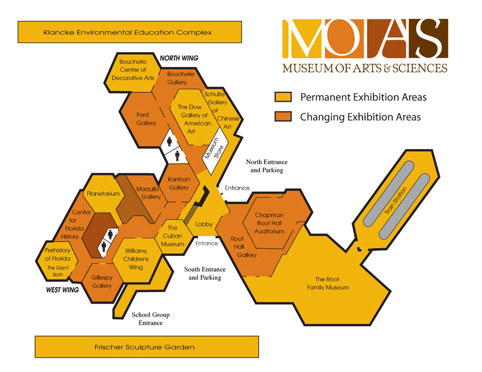 Moas Museum Map on warehouse floor plan