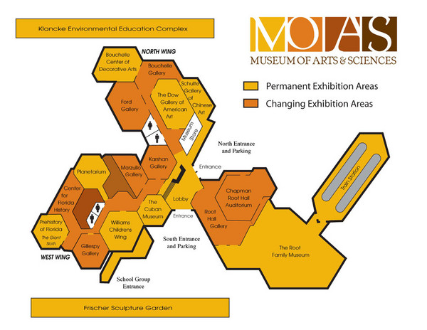 MOAS Museum Map