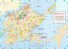 Mactan Island Tourist Map