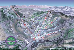 Mad River Glen Ski Area Trail Map