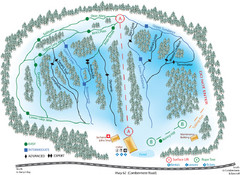 Madawaska Valley (Radcliffe Hills) Ski Trail Map
