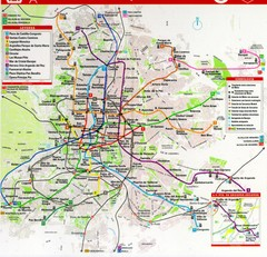 Madrid Transit Map