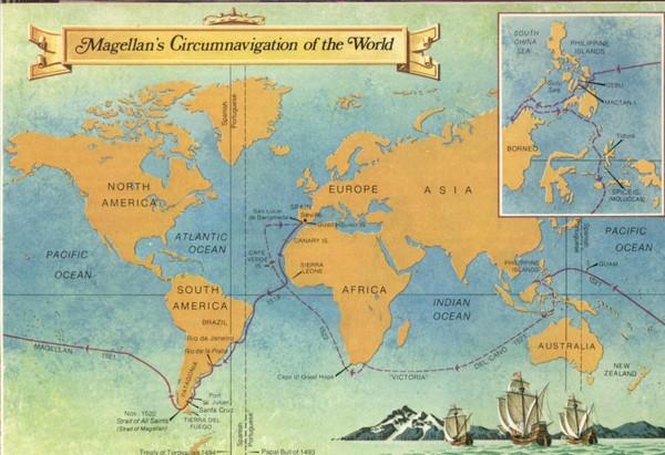 Magellans Cirnavigation of World 1519-1522 Map - Isola ... on strait of magellen map, columbus map, llanos south america map, sir francis drake map, tomtom map, pendragon map, da gama map, zheng he map, bartholomew dias map, genesis map, world map, william clark map, da vinci map, lacrosse map, palm map, google map, asia map, tricare map, ibn battuta map, henry the navigator map,