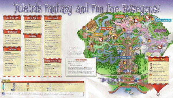 Magic Kingdom Guide Map - Magic Kingdom • mappery