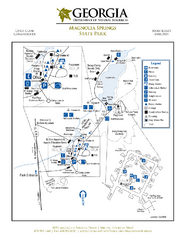 Magnolia Springs State Park Map