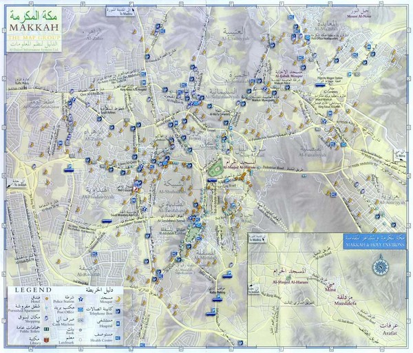 Makkah City Map