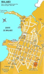 Malabo city Map