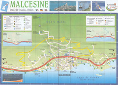 Malcesine Map