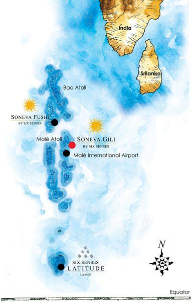 Maldives Islands Map Mappery