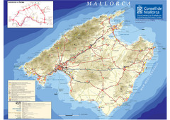 Mallorca Tourist Map