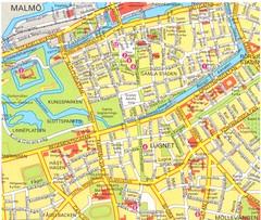Lund Map swedish Lund Sweden mappery