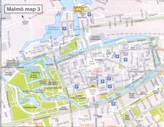 Malmo City Map Malmo Sweden mappery