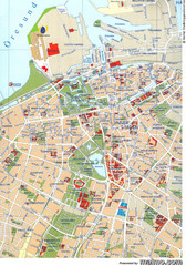 Malmo City Map