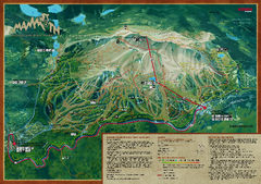 Mammoth Mountain Bike Park Map