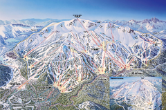 Mammoth Mountain Ski Trail Map