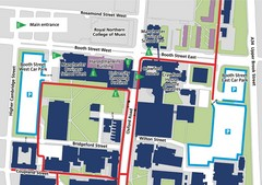Manchester Business School Map