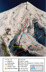 Manganui Ski Trail Map