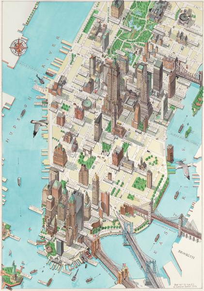 Fullsize Manhattan New York