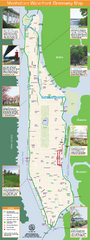 Manhattan Waterfront Greenway Bike Map