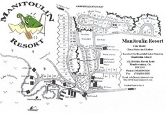 Manitoulin Resort Map