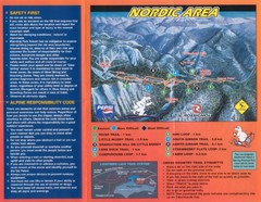 Manning Park Resort 2004–07 Manning Park Cross Country Map