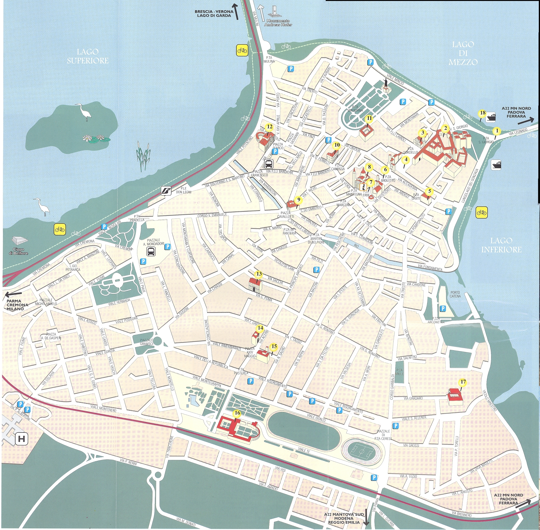 Mantova Map - mantova it • mappery