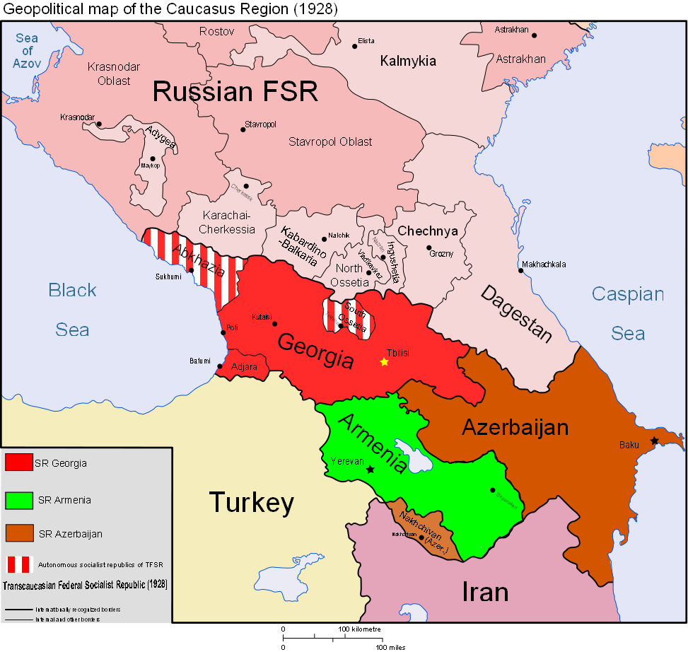 Caucasus Map images