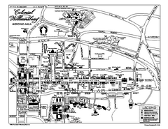 Map of Colonial Williamsburg